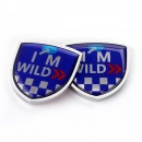 I'MWILD 盾形侧标 / I'MWILD shield side mark